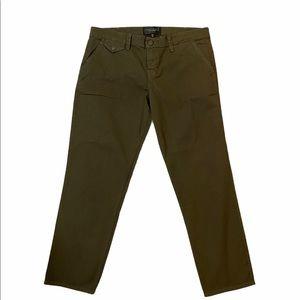 Sanctuary Standard Surplus Olive Cargo Crop Pants